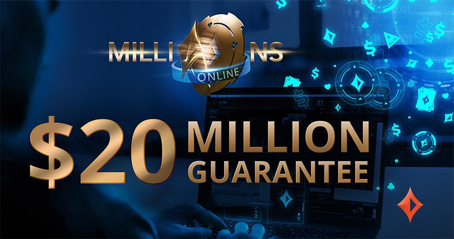 Крупнейшая турнирная онлайн-серия Millions Online от рума Partypoker.